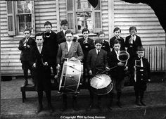marching band 1900