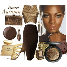 """Toned Autumn"" by prettyyourworld on Polyvore"