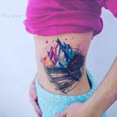 pissaro #tattoo #ink #girl