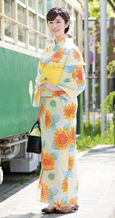 Japanese Costume, Japanese Kimono, Traditional Kimono, Traditional Dresses, Japanese Outfits, Japanese Fashion, Japanese Beauty, Asian Beauty, Yukata Kimono