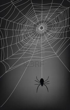 背景の蜘蛛の巣のイラスト、。 ストックフォト