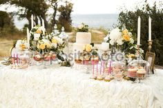 sweet table decoration - Google Search