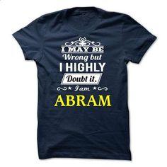 ABRAM - I may be Team - create your own shirt #jean skirt #custom hoodie