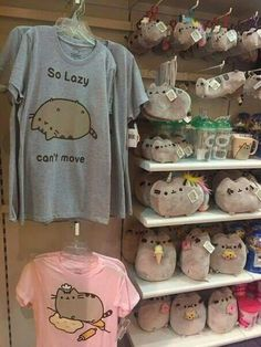 Now i really ant to go and spend all my money on pusheen murch