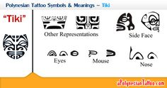 Polynesian Tattoo Symbols & Meanings – Tiki... According to its guardian role, they mainly symbolize protection.