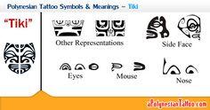Polynesian Tattoo Symbols & Meanings - Tiki