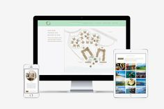 Web Design, Graphic Design, Resort Spa, Maui, Typography, Branding, Website, Digital, Creative