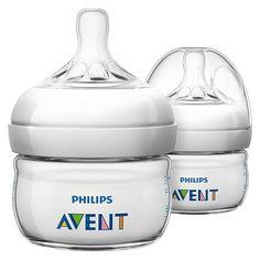 Philips Avent Natural Newborn Bottle - 2oz (2pk)