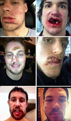 Hockey players be like #butfirstletmetakeaselfie hahaha