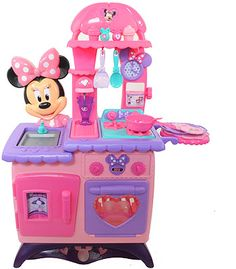 Minnie Mouse Bow Tique Flippin Fun Kitchen Just Play Toys R