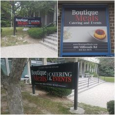 This outdoor signage completed by Speedpro Imaging Toronto West!