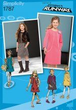 Project Runway Girls Dress Pattern