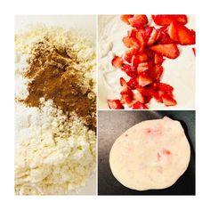 Τηγανίτες χωρίς γλουτένη & βίγκαν με φράουλες! – Gfhappy Gluten Free, Happy, Glutenfree, Sin Gluten, Ser Feliz, Grain Free, Being Happy