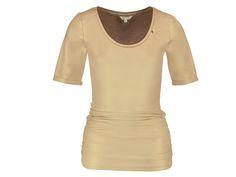 Dewi Gold van It's Given Fashion is een elegante shirt. Deze is op voorraad en verkrijgbaar bij ModaNova  bestellingen binnen 24-48 uur bezorg Post.nl  www.modanova.nl