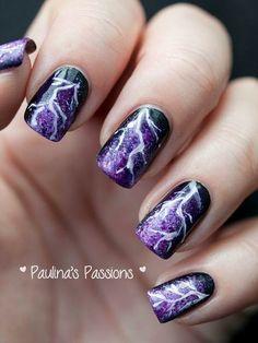 Storm nails cute easy diy
