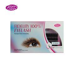 Stars Colors South Korean imports of false eyelash comfortable 100% lifelike Single natural thick coils fake lashes super soft