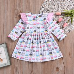 Charitable Newborn Baby Girl Cartoon Print Short Sleeve Bodysuit Jumpsuit Top T Shirt Tulle Tutu Skirts Mermaid Outfit Cute Clothes Set Clothing Sets
