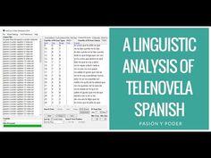 Using Python and Antconc to Analyze Spanish-Language Telenovela Transcripts