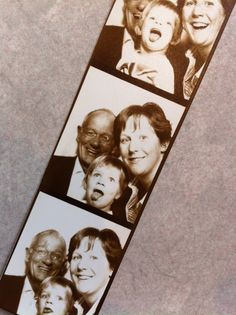 old fashioned photo booth photos