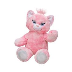 Build a Bear Workshop, Blingy Kitty Cat Stuffed Animal, 17 in. ($20) ❤ liked on Polyvore featuring toys and stuffed animals