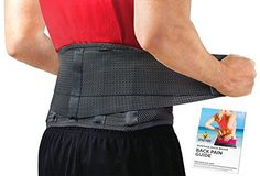 Lumbar Support Belt by Sparthos - Relief for Back Pain, Herniated Disc, Sciatica, Scoliosis and More - Breathable Mesh Design with Lumbar Pad - Adjustable Support Straps - Lower Back Brace - Size LGE Back Brace For Posture, Good Posture, Best Back Brace, Lower Back Support, Posture Support, Piriformis Syndrome, Sciatica Pain, Sciatic Nerve Exercises, Posture Correction