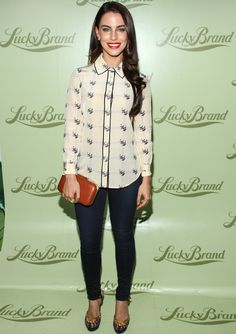 Jessica Lowndes - Lucky Brand Beverly Hills Store Opening in Beverly Hills 29 October 2013 Jessica Lowndes, Artist Style Fashion, Fashion Models, Fashion Outfits, Womens Fashion, Spring Fashion, Winter Fashion, Red Carpet Event, Trending Outfits