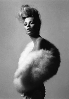 Kate Moss by David Sims for Vogue Paris, March 2004. Makeup by Lisa Houghton  #makeup #beauty #fashion