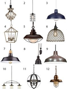 Using farmhouse light fixtures to make a bold statement in your home is the perfect way to upgrade your homes interior design on a dime | Design Dazzle