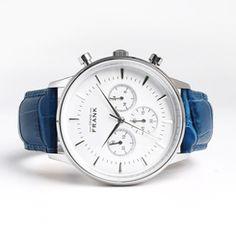 Montpellier White Chronograph Watch