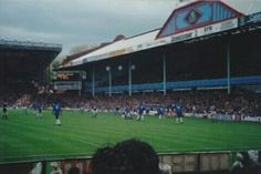 Villa Park, Aston Villa in the 1980s.