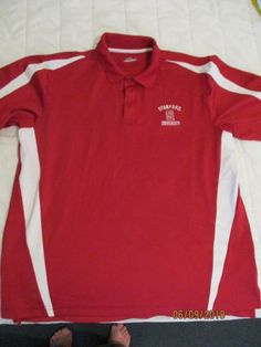 sports shoes 1bd51 10148 Stanford University Men s Under Armour Red Golf Polo Shirt Large  Embroidered  UnderArmour  PoloRugby