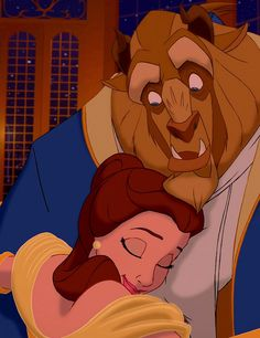 Beauty and the Beast... i love you just the way you are....