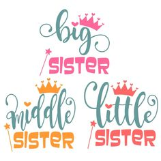 Sisters Cuttable Design Cut File. Vector, Clipart, Digital Scrapbooking Download, Available in JPEG, PDF, EPS, DXF and SVG. Works with Cricut, Design Space, Sure Cuts A Lot, Make the Cut!, Inkscape, CorelDraw, Adobe Illustrator, Silhouette Cameo, Brother ScanNCut and other compatible software.