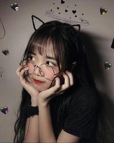 Pretty Korean Girls, Cute Korean Girl, Cute Asian Girls, Cute Girls, Cool Girl, Aesthetic Makeup, Aesthetic Girl, Egirl Fashion, Ulzzang Korean Girl