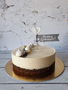 Vanilla Cake, Mousse, Cake Recipes, Berries, Food And Drink, Birthday Cake, Sweets, Meals, Cookies