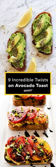 Not that you needed an excuse. #healthy #recipes #avocado http://greatist.com/eat/avocado-toast-recipes