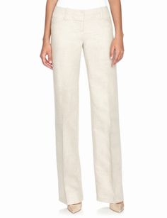 4a076854f8 Cassidy Linen Blend Trousers from THELIMITED.com Business Attire