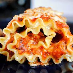 Homemade By Holman: Lasagna Roll-ups