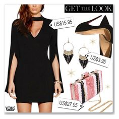 """""""Yoins.com"""" by dressedbyrose ❤ liked on Polyvore featuring Christian Louboutin"""