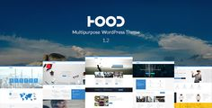 Hood   Responsive Multi-Purpose Theme . Hood Theme is an Responsive, Multipurpose, Clean designed Seo friendly Wordpress Theme for all kind of business. Hood Theme can be used for any type of website: business, agency, corporate, photography, personal website, blog, construction, restaurant etc.