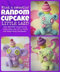 Random CUPCAKE Little Lazy by LittleLazies on Etsy, $13.00