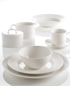 Kate Spade Wickford--wish I could go back to my wedding registry and ask for this for my everyday dinnerware.