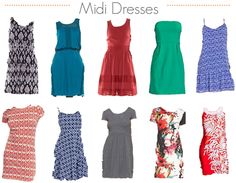 Pictures of summer dresses at target