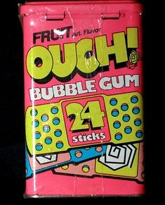 """ha, I used to love these!!  ..but now I wonder, how could someone pitch that idea?? """"I got it. Pretend BAND-AIDS for kids to chew. -no, no, like gum. They'll love it. Kids are nasty. right??"""""""