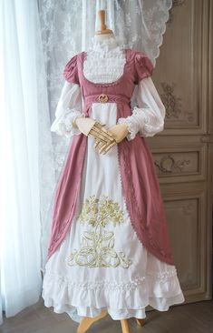 Really Cute Outfits, Pretty Outfits, Pretty Dresses, Beautiful Dresses, Indie Fashion, Lolita Fashion, Cute Fashion, Estilo Lolita, Old Fashion Dresses
