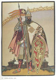 "Ivan Bilibin, Costume design for the Opera ""Prince Igor"" by Alexander Borodin"