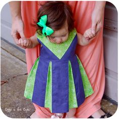 Cheer-inspired Perfect Party Dress by Eggo in the Oven - I really enjoyed participating in this blog hop!