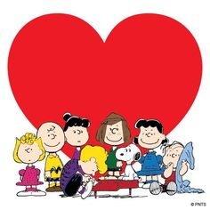 Happy Valentine's Day from the Peanuts Gang!