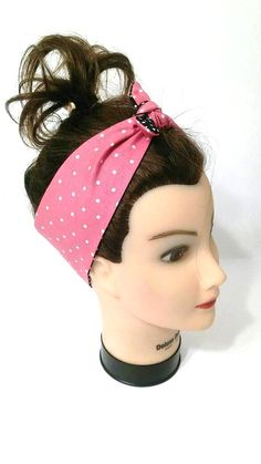 Check out this item in my Etsy shop https://www.etsy.com/listing/269037474/tie-up-headband-head-wrap-headscarf-pin