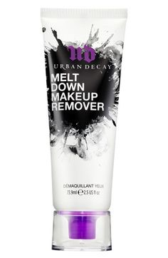 Truly appreciate how easily this Urban Decay meltdown makeup remover takes off the makeup each and everyday. No more scrubbing or repetitive whipping.